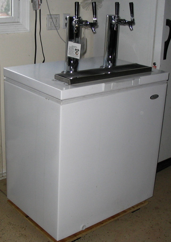 Diy Kegerator And Diy And Crafts On Pinterest